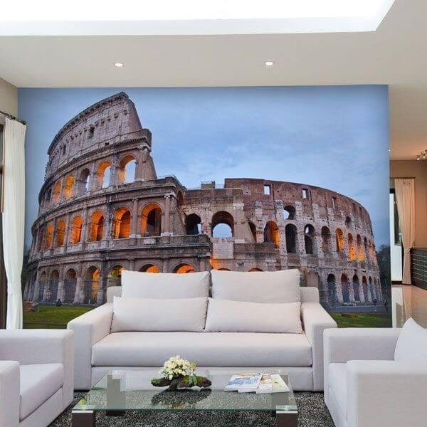 Mural Coliseo de Roma