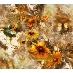 Fotomural de flores amarillas