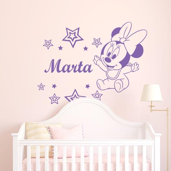 Vinilo Minnie Mouse bebé