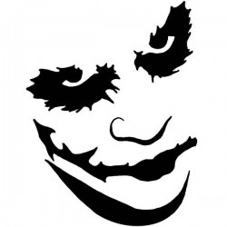 Vinilo decorativo El Joker