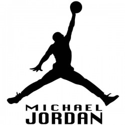 Adhesivo de pared Michael Jordan