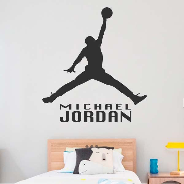 Adhesivo de pared Michael Jordan