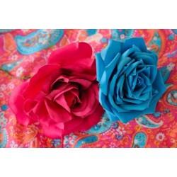 Mural de pared dos rosas
