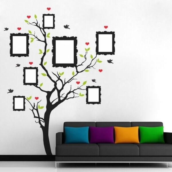 Vinilo decorativo árbol genealógico