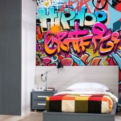 Fotomural graffitis 2