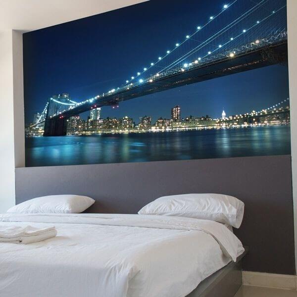 Fotomural puente de New York