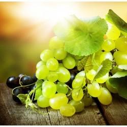 Mural en vinilo uvas blancas