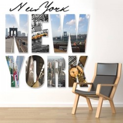 Mural de pared New York