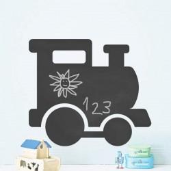 Pizarra tren infantil