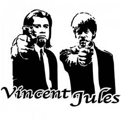 Vinilo cine Vincent y Jules