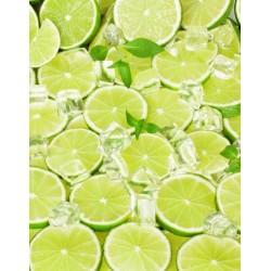 Vinilo de cocina limones cortados