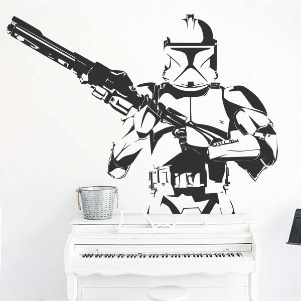 Vinilo de pared Stormtrooper