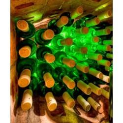 Vinilo de cocina botellas de vino