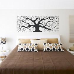 Vinilo árbol rectangular