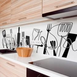 Adhesivos utensilios de cocina