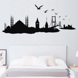 Vinilo Skyline ciudad Estambul