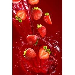 Vinilo de cocina fresas