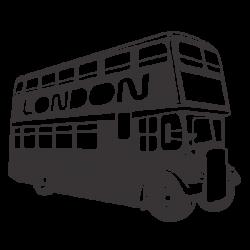 Adhesivo bus London
