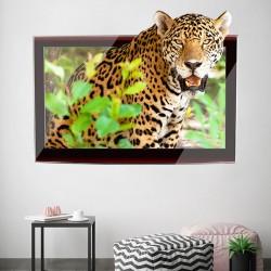Cuadro 3d de tigre