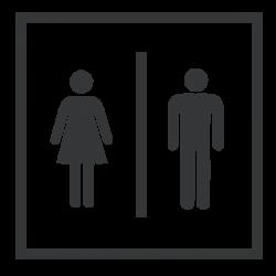 Adhesivo para puertas WC