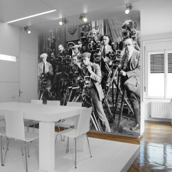 Mural de pared fotógrafos