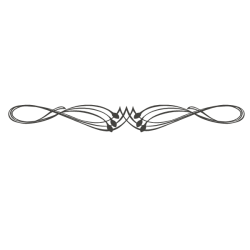 Pegatina cabecero ornamental 1