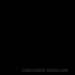 Adhesivo de pared CR7
