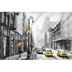 Mural pintura de Nueva York