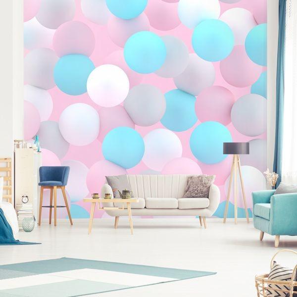 Fotomural globos en colores