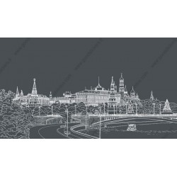 Fotomural Kremlin Moscú