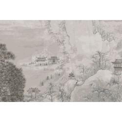 Mural ilustración vintage Japón