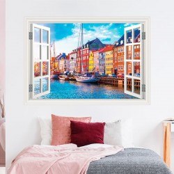 Ventana decorativa Copenhague