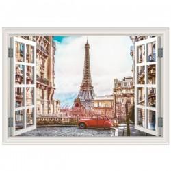 Ventana decorativa de París