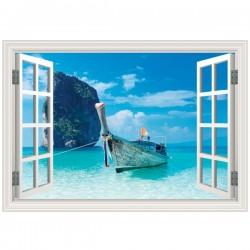 Falsa ventana de una barca