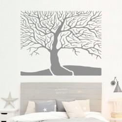 Vinilo árbol cabecero