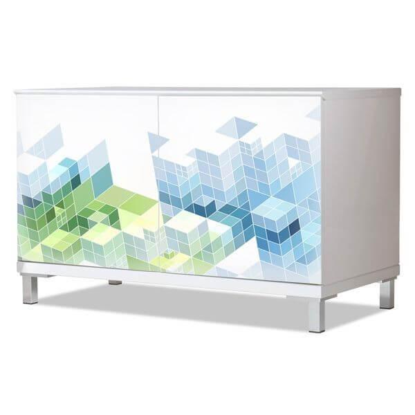 Vinilo para muebles objeto 3D