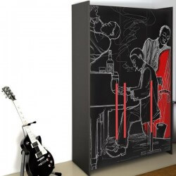 Vinilo para muebles de músicos