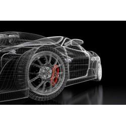 Fotomural diseño coche