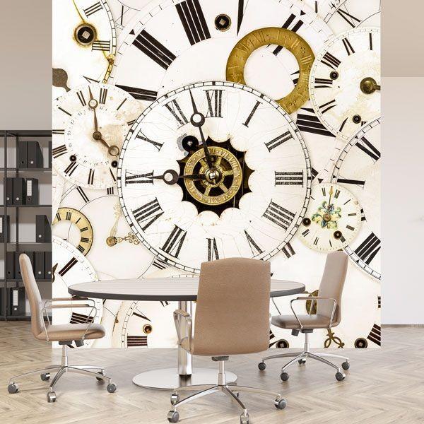 Fotomural relojes