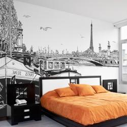 Fotomural ilustración de París