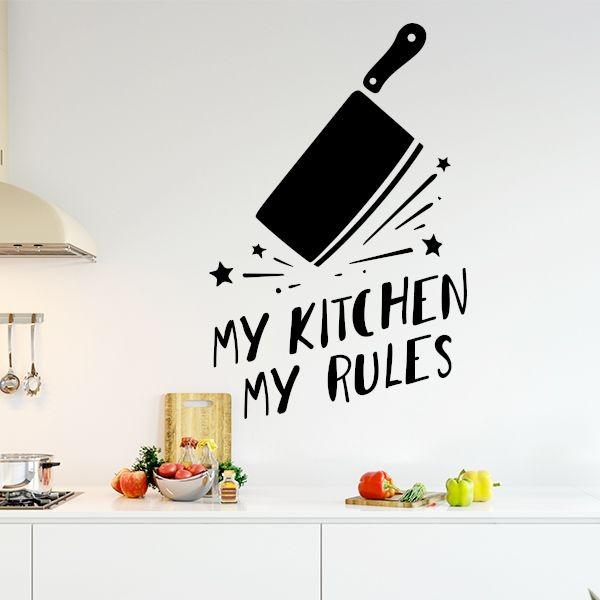 Vinilo mi cocina mis reglas