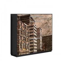 Vinilo adhesivo textura edificios