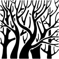 Vinilo árbol tipo cuadro