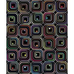 Adhesivo cuadrados de colores