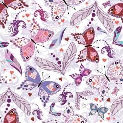 Lamina adhesiva mariposas