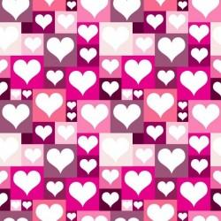 Vinilo para armarios corazones 2