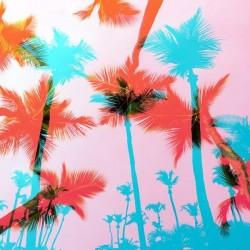 Fotomural palmeras en 3D