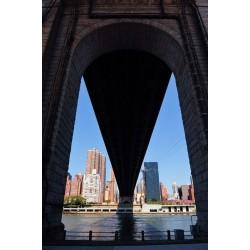 Fotomural debajo del puente