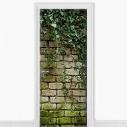 Vinilo adhesivo puerta pared