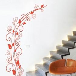 Vinilo de pared planta trepadora
